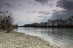 Côte FO le sava de rivière Image libre de droits