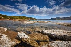 C?te grecque photo stock