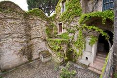 Côte Italie de Rufolo Ravello Amalfi de villa Image libre de droits