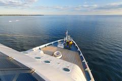 Côte Luminosa de bateau de croisière Photos stock