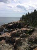 côte Maine Photos libres de droits