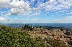 côte Maine Image libre de droits