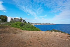 Côte Majorque de Cala pi photographie stock libre de droits