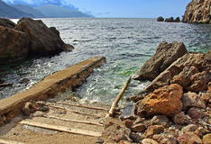 Côte nordique de Majorca Image stock