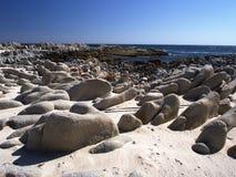 Côte omanaise près de Hasik Image libre de droits