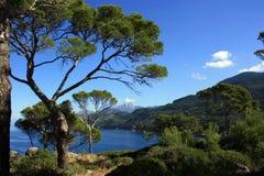 Côte ouest de Majorque Image libre de droits