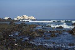 Côte Pacifique du Chili Photographie stock libre de droits