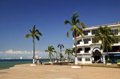 Côte Pacifique du Mexique Images libres de droits