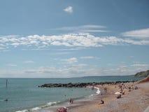 Côte R-U de Dorset Images libres de droits