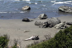 Côte rocailleuse 4 Photo libre de droits