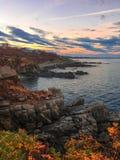 Côte rocailleuse atlantique Photo stock