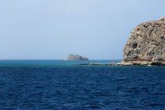 Côte rocheuse de la Grèce Photo libre de droits