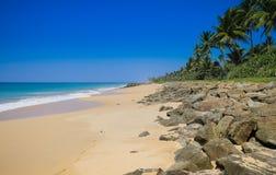 Côte sud de Sri Lanka Photo libre de droits