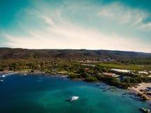 Côte sud du Porto Rico Images stock