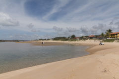Côte sud - natale, RN, Brésil Photo stock