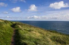 Côte sur l'Irlande Photo stock