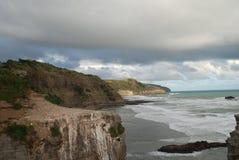Côte tasmanienne, Australie de la Tasmanie Photo libre de droits