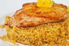 Côtelette de poulet Images stock