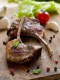 Côtelettes d'agneau Images stock