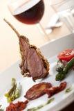 Côtelettes d'agneau Image stock
