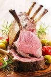 Côtelettes d'agneau Photo libre de droits