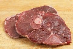 Côtelettes de jambe d'agneau Images stock