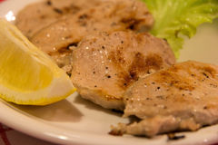 Côtelettes de porc Photo stock