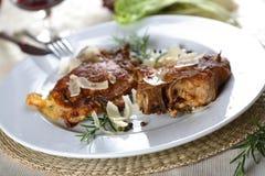 Côtelettes de porc avec l'os Photo stock