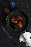 Côtelettes de porc coréennes de style photo libre de droits