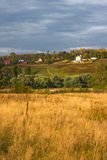 Côtes d'automne avant une pluie Photographie stock