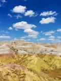 Côtes dans les bad-lands du Dakota du Sud Image stock
