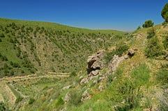 Côtes et montagnes Photos libres de droits