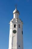 C. th башни часов 17 (Новгород Кремль, Россия) Стоковые Изображения RF
