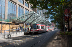 C-Train, Calgary Royalty Free Stock Images