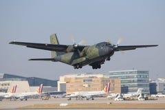 C-160 transall 免版税图库摄影