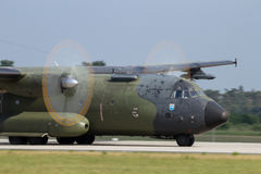C-160 transall stock foto's