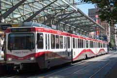 C-trem, Calgary imagem de stock