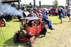 4 1/2 C Type Foden Miniature steam wagon. Royalty Free Stock Photography
