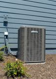 Residential A/C units royalty free stock images