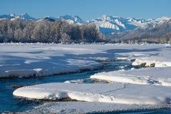 33c ural χειμώνας θερμοκρασίας της Ρωσίας τοπίων Ιανουαρίου ΗΠΑ albedo στοκ εικόνα