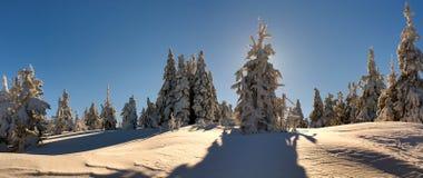 33c ural χειμώνας θερμοκρασίας της Ρωσίας τοπίων Ιανουαρίου Στοκ φωτογραφίες με δικαίωμα ελεύθερης χρήσης
