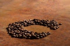 C voor Koffie Stock Afbeeldingen