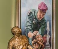 A1C William H Pitsenbarger dedykacja i statua zdjęcia stock
