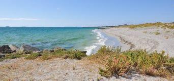 Уединённый пляж c y O'Connor: Fremantle, западная Австралия Стоковое Фото