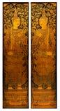 c001 drzwiowy świątynny tajlandzki Zdjęcia Stock