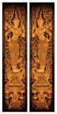 c002 drzwiowy świątynny tajlandzki Obraz Royalty Free