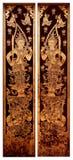 c004 drzwiowy świątynny tajlandzki Obraz Royalty Free