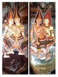 c007 drzwiowy świątynny tajlandzki Zdjęcia Stock