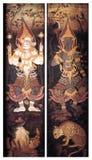 c009 drzwiowy świątynny tajlandzki Zdjęcie Stock