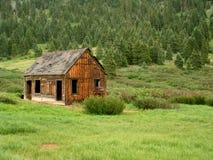 C17 Mining Cabin. Abandoned mining cabin in Argentine Basin stock photo